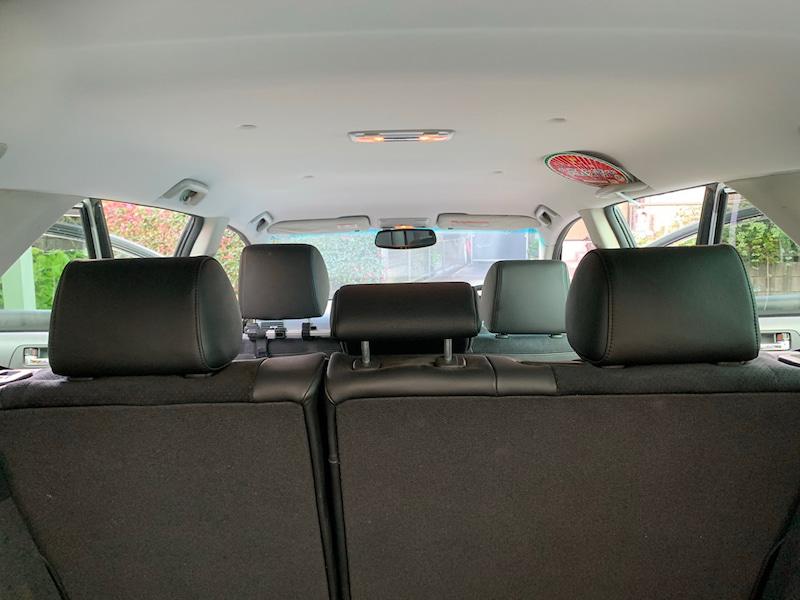 トヨタ アベンシス ワゴンの天井張り替え後